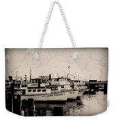 At The Marina - Jersey Shore Weekender Tote Bag