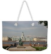 At The Newa - St. Petersburg Russia Weekender Tote Bag