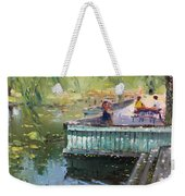 At The Park By The Water Weekender Tote Bag