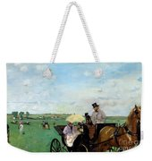At The Races In The Countryside,  Weekender Tote Bag