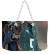 At The Racetrack 5 Weekender Tote Bag