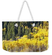 At The Right Time There Weekender Tote Bag