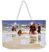 At The Seashore Edward Henry Potthast Weekender Tote Bag