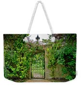At The Secrete Gate To The Garden. Weekender Tote Bag