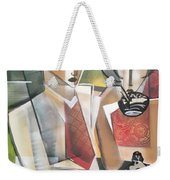 At The Tea Break Weekender Tote Bag