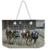 At The Track Weekender Tote Bag