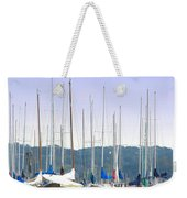At The Yacht Club Weekender Tote Bag