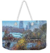 At Three Sisters Island Weekender Tote Bag