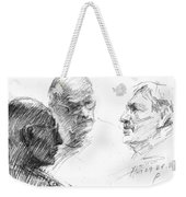 At Tim Hortons 2 Weekender Tote Bag