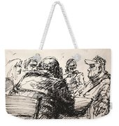 At Tim Hortons 4 Weekender Tote Bag
