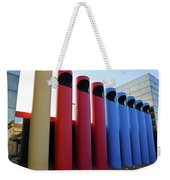 A T And T Switching Station, Columbus, Indiana Weekender Tote Bag