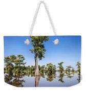 Atchafalaya Cypress Tree Weekender Tote Bag