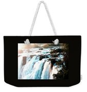 Waterfall Scene For Mia Parker - Sutcliffe L A S Weekender Tote Bag