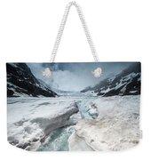 Athabasca Glacier, Alberta, Canada Weekender Tote Bag