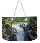 Athabaska Falls, Mt. Hardisty Weekender Tote Bag