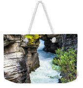 Athabaska River Slot Canyon Weekender Tote Bag