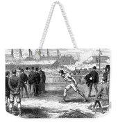 Athletics: Shot Put, 1875 Weekender Tote Bag
