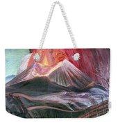 Atl: Volcano, 1943 Weekender Tote Bag