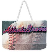 Atlanta Braves Weekender Tote Bag