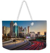 Atlanta Downtown Lights Weekender Tote Bag