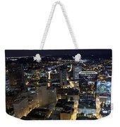 Atlanta Georgia At Night Weekender Tote Bag