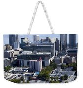 Atlanta Georgia Skyline Weekender Tote Bag