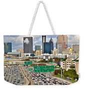 Atlanta Georgia Thrives Weekender Tote Bag
