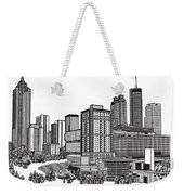 Atlanta Georgia Vector Weekender Tote Bag