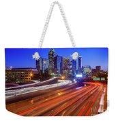 Atlanta Interstate I-85 By Night Weekender Tote Bag