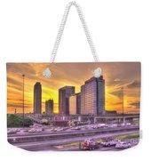 Atlanta Midtown Atlantic Station Sunset Weekender Tote Bag