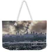 Atlanta Skyline Panoramic Weekender Tote Bag