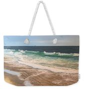 Atlantic Beach Waves Weekender Tote Bag