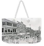 Atlantic City Boardwalk 1900 Weekender Tote Bag