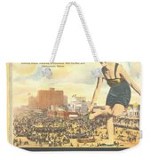 Atlantic City The Playground Of The Nation Weekender Tote Bag