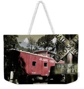 Atlantic Coast  Line Railroad Carriage Weekender Tote Bag