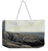 Atlantic Lighthouse Weekender Tote Bag