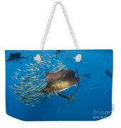 Atlantic Sailfish Hunting Weekender Tote Bag