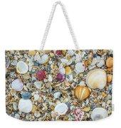 Atlantic' Shells Color Weekender Tote Bag