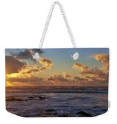 Atlantic Sunset Weekender Tote Bag