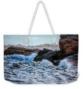 Atlantic Waves 2 Weekender Tote Bag