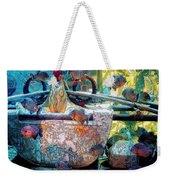Atlantis Aquarium In Watercolor Weekender Tote Bag
