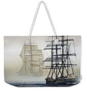 Atlas And Inverclyde Weekender Tote Bag by James Williamson