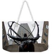 Atlas New York City Weekender Tote Bag