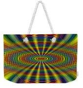 Atomic Rainbow Weekender Tote Bag