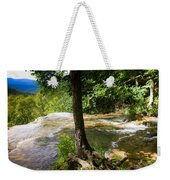 Atop Falling Spring Fall Weekender Tote Bag