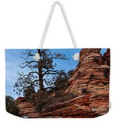 Atop The Layers Weekender Tote Bag