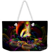 Atrium Outburst Angel Weekender Tote Bag
