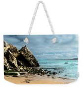 Attached To The Boat Weekender Tote Bag