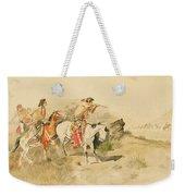 Attack On The Muleteers Weekender Tote Bag