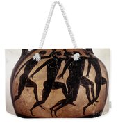 Attic Black-figured Vase Weekender Tote Bag